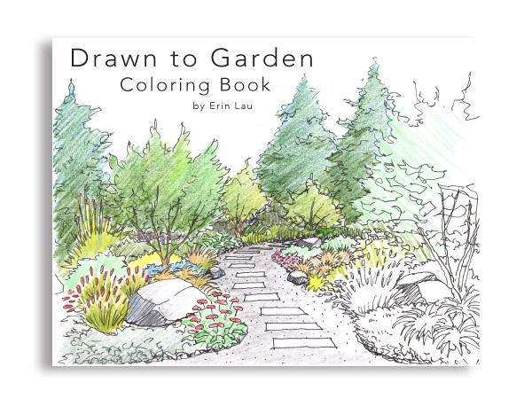 Garden Coloring Book Erin Lau Design