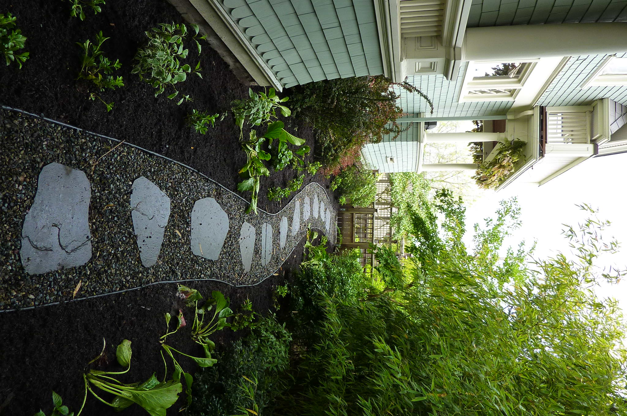 in your garden designs